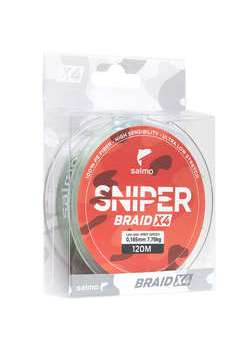 Шнур SNIPER BRAID X4 ARMY GREEN  091/0,232